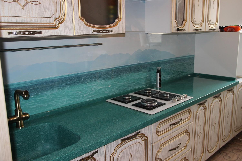 Кухня столешница из искусственного камня столешница из blrjuj камня